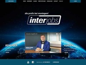 Interjobs, Video-Website