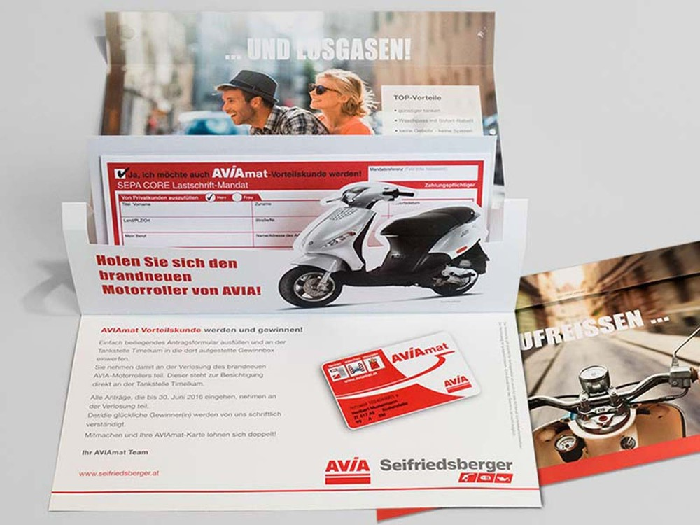 AVIA Seifriedsberger – Direct Mailing AVIAmat