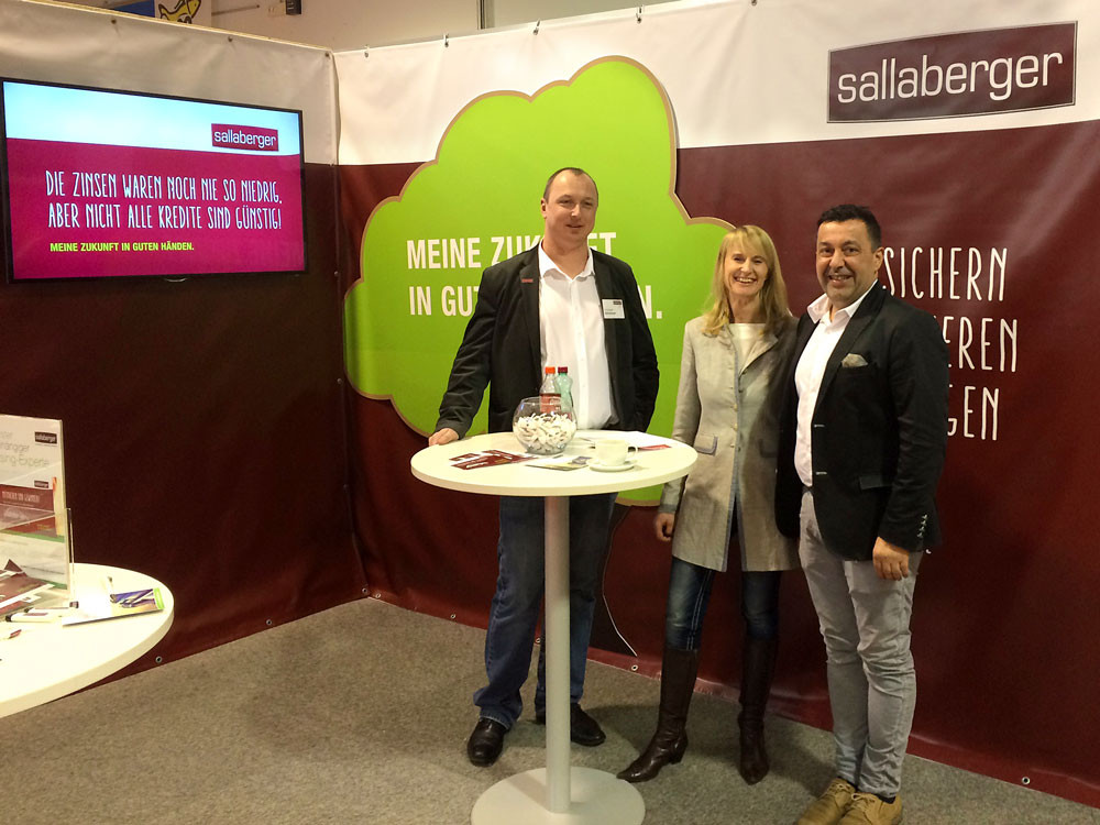 Sallaberger – Messestand