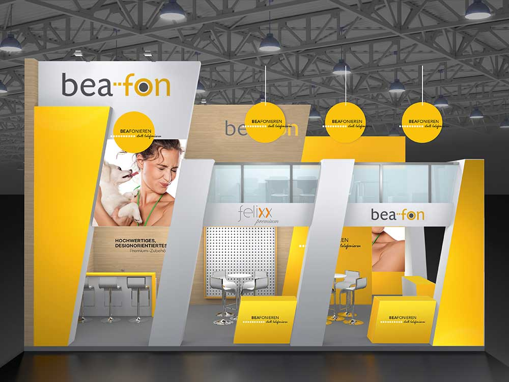 Messestand bea-fon